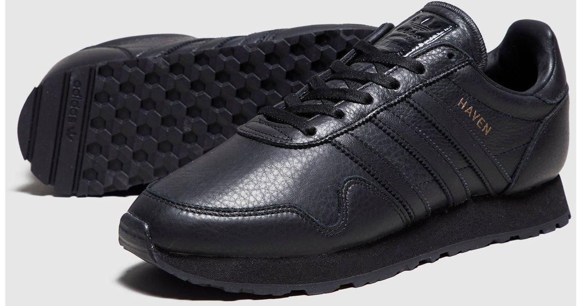 692df86c4924 Lyst - adidas Originals Haven Leather in Black for Men