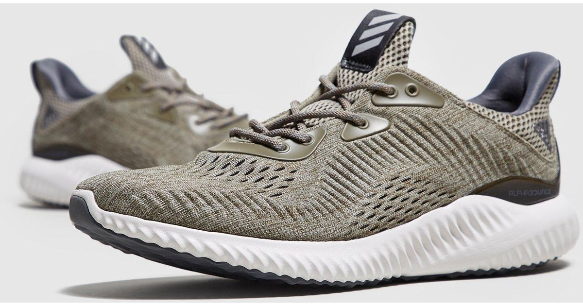 cheaper 07755 655ec Lyst - Adidas Alpha Bounce in Green for Men - Save 31%