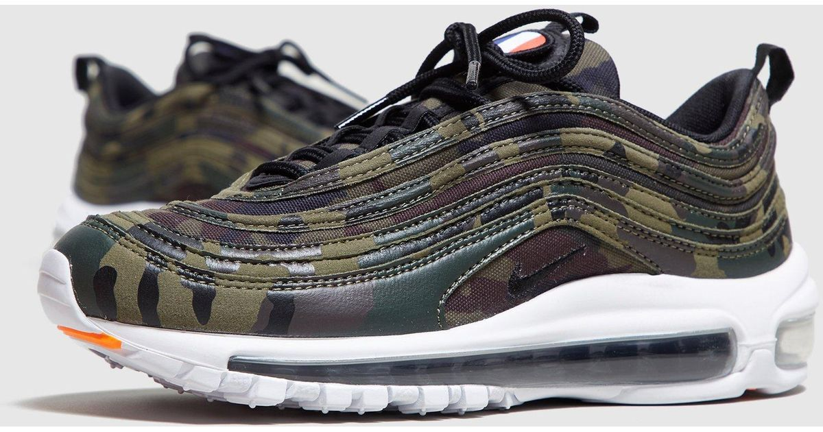 Nike Multicolor Air Max 97 Camo France Women's for men