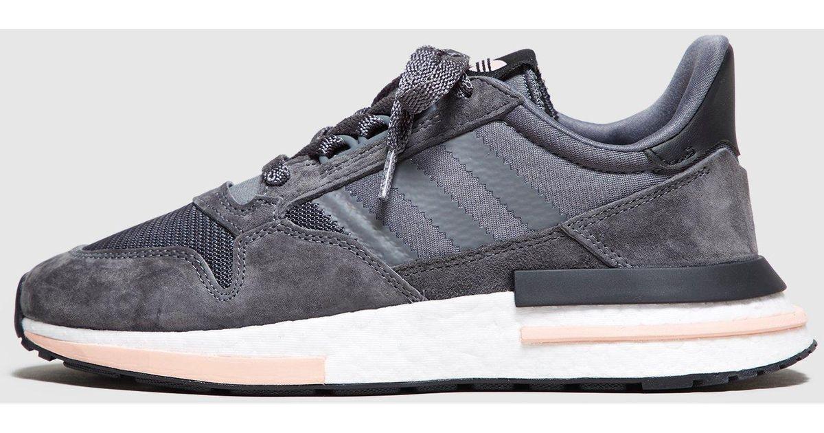 finest selection 9f782 366de Adidas Originals Gray Zx500 Og Boost Women's