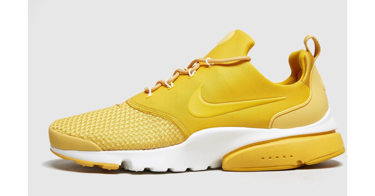 Woven Air Fly Lyst Yellow Presto In Nike Men For xIFFg