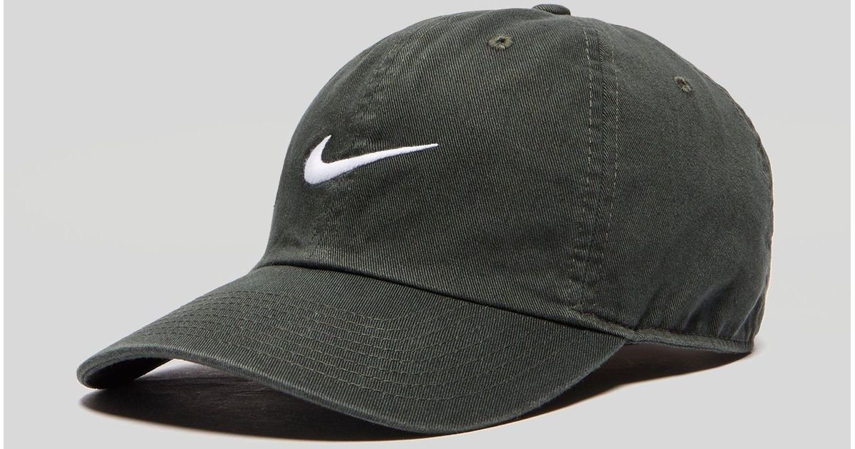 Lyst - Nike Heritage 86 Swoosh Cap in Green for Men ffb62880dd3