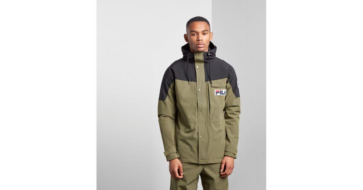 For Green Men Fila Chetif Lightweight Jacket 5Aq4c3RjL