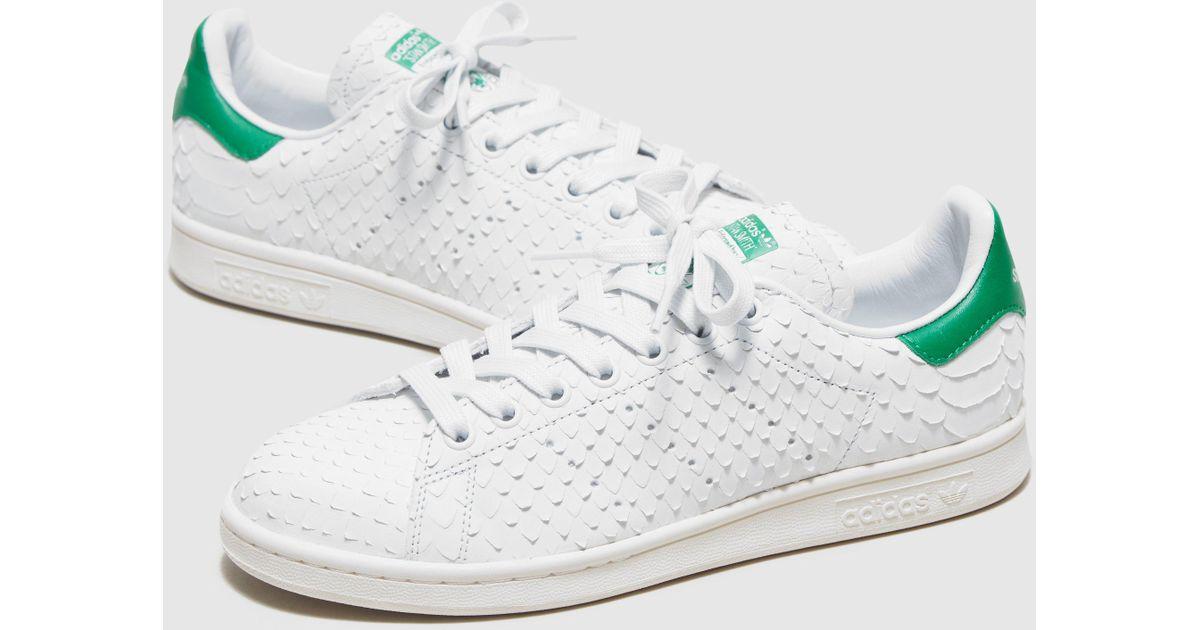 Adidas Originals White Stan Smith Premium Women's