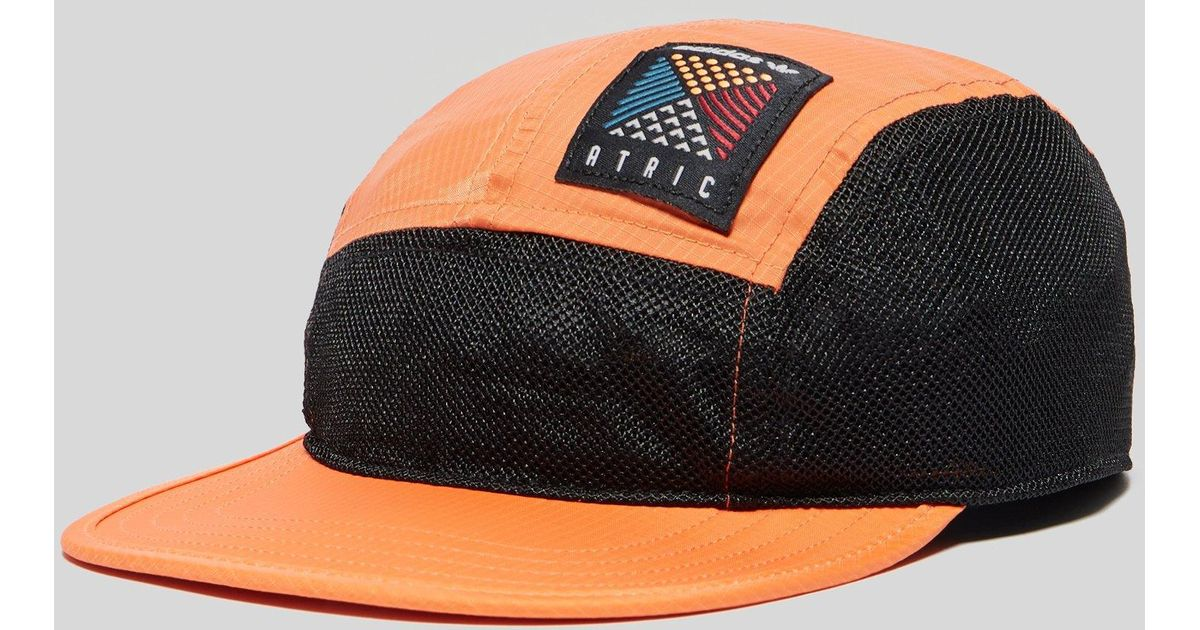 Lyst - adidas Atric 5 Panel Cap in Orange for Men - Save 35% 8c3ab24958a