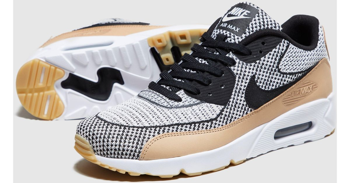 100% authentique 61d6f 4404c Nike Brown Air Max 90 Jacquard for men