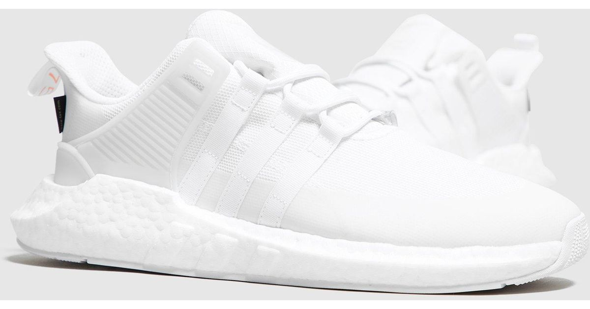 low priced a9eae e6fde Lyst - adidas Originals Eqt Support 9317 Gtx in White for Me