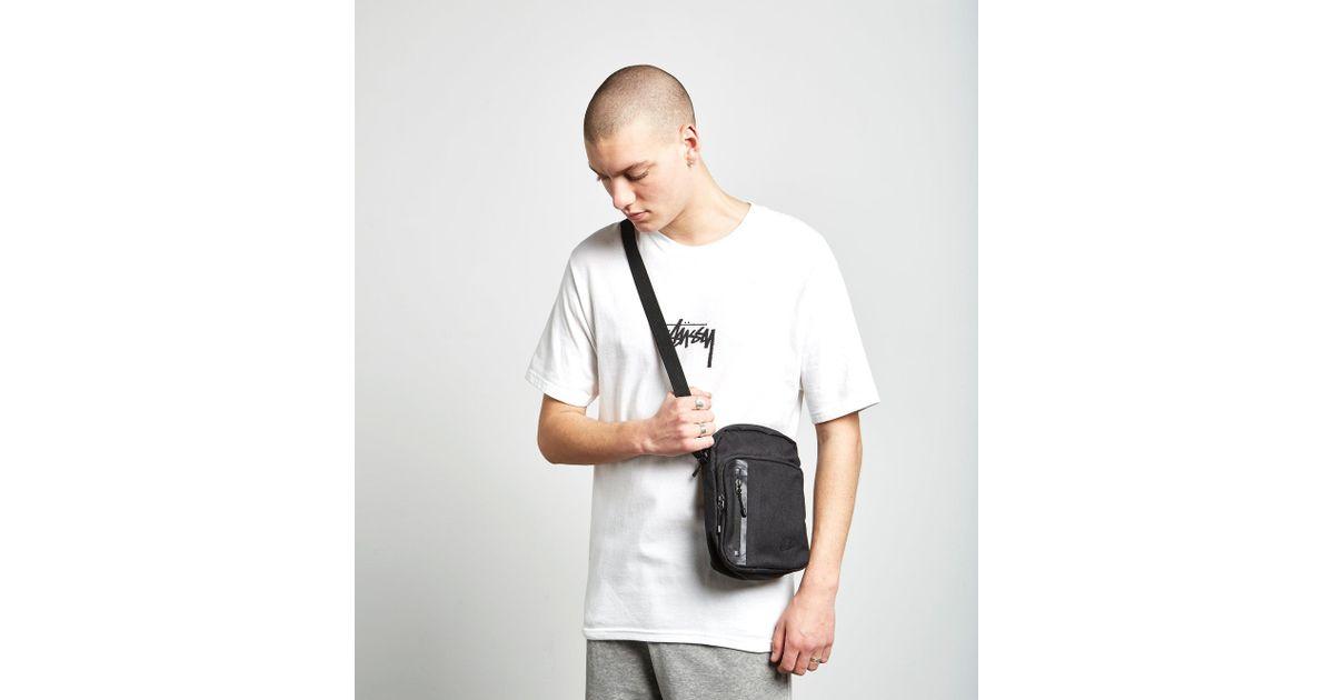 Lyst - Nike Core Small Crossbody Bag in Black for Men 7d85eb9fdd250