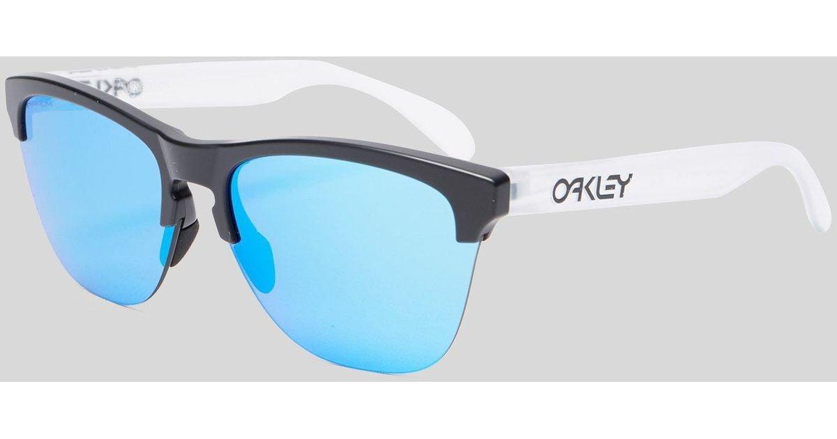 af15cfd4842 Oakley Frogskins Lite Prizm Sunglasses in Black for Men - Lyst