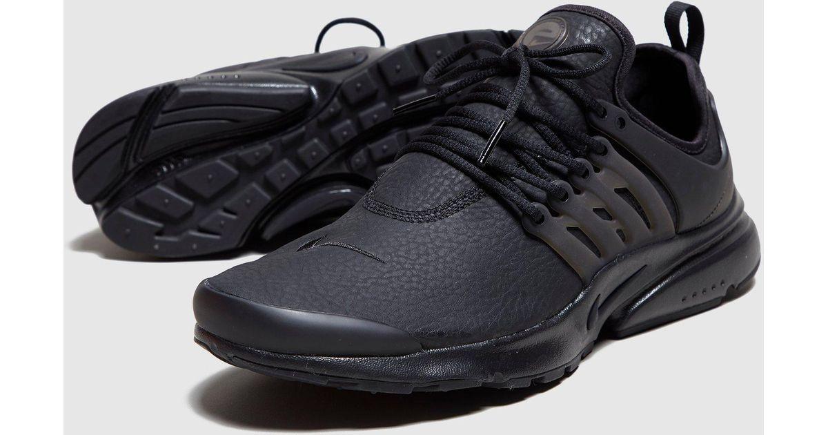 info for 1b353 452ad Nike Black Air Presto Premium Women's for men