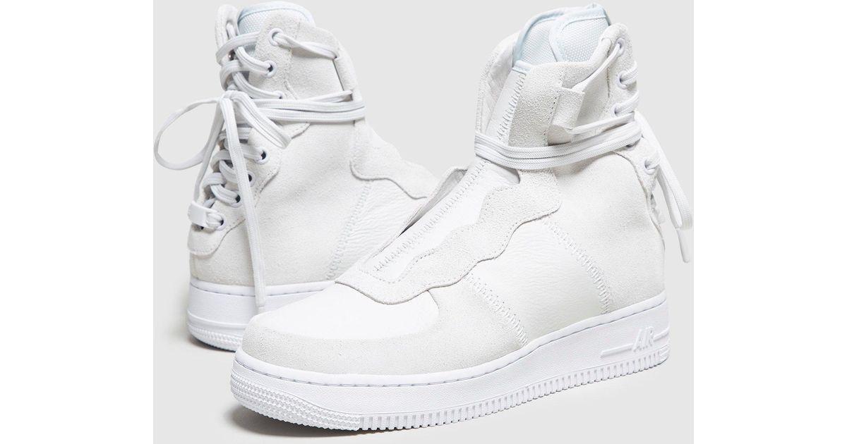 the best attitude 1019f d3728 Nike White Air Force 1 Rebel Xx Women's for men