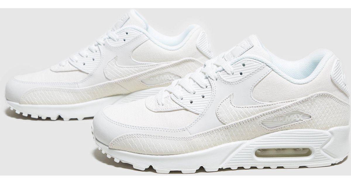 ogromna zniżka dobra sprzedaż gorąca sprzedaż online Nike White Air Max 90 'snake' Pack for men