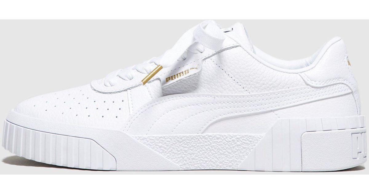 dbc4769c7622 Lyst - PUMA Cali Women s in White