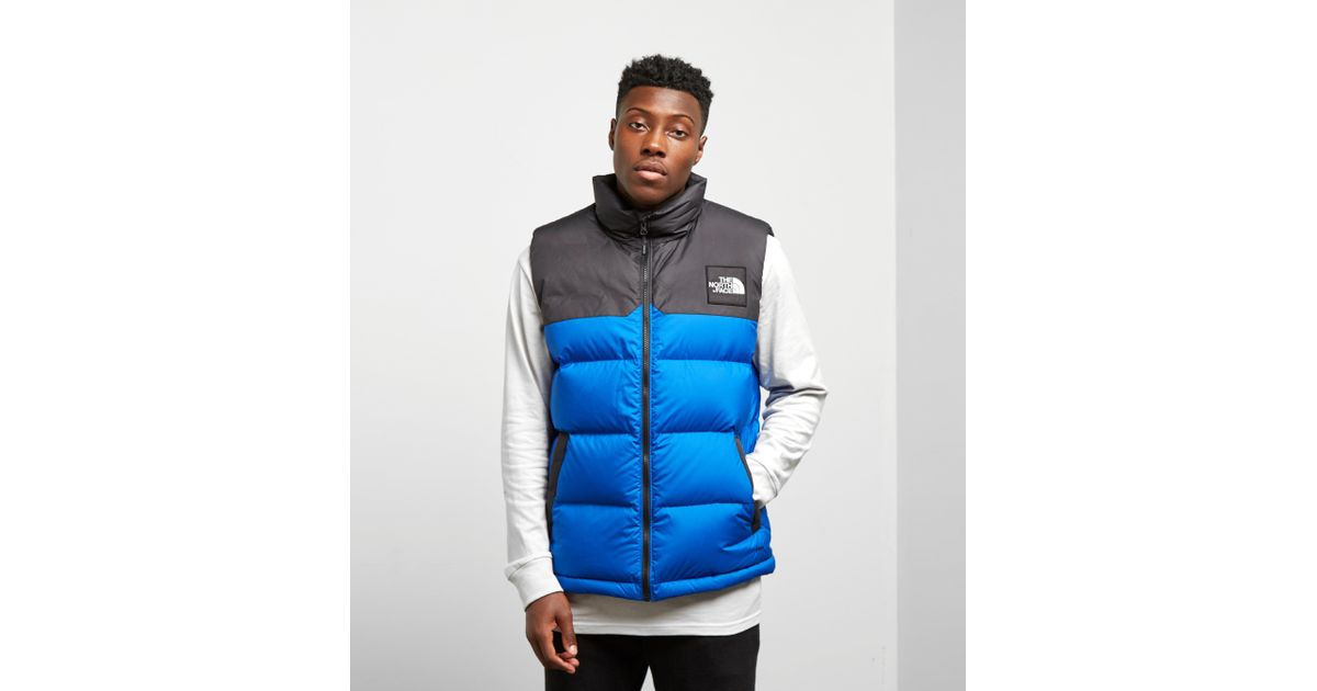 41613a83f The North Face Blue 1992 Nuptse Vest for men