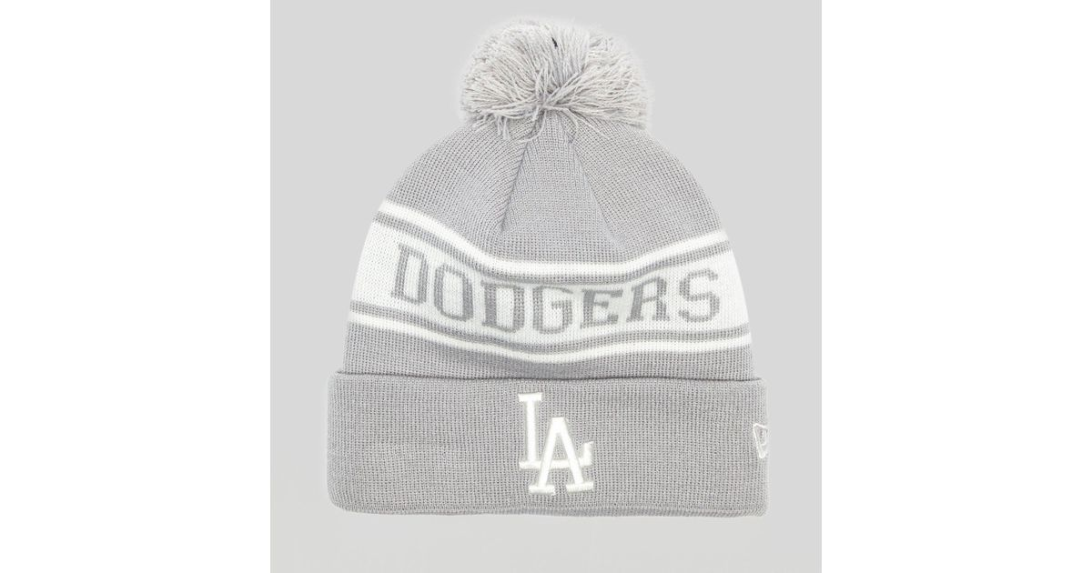 90eac531 coupon for lyst ktz los angeles dodgers beanie size exclusive in white for  men 09a8d 93777