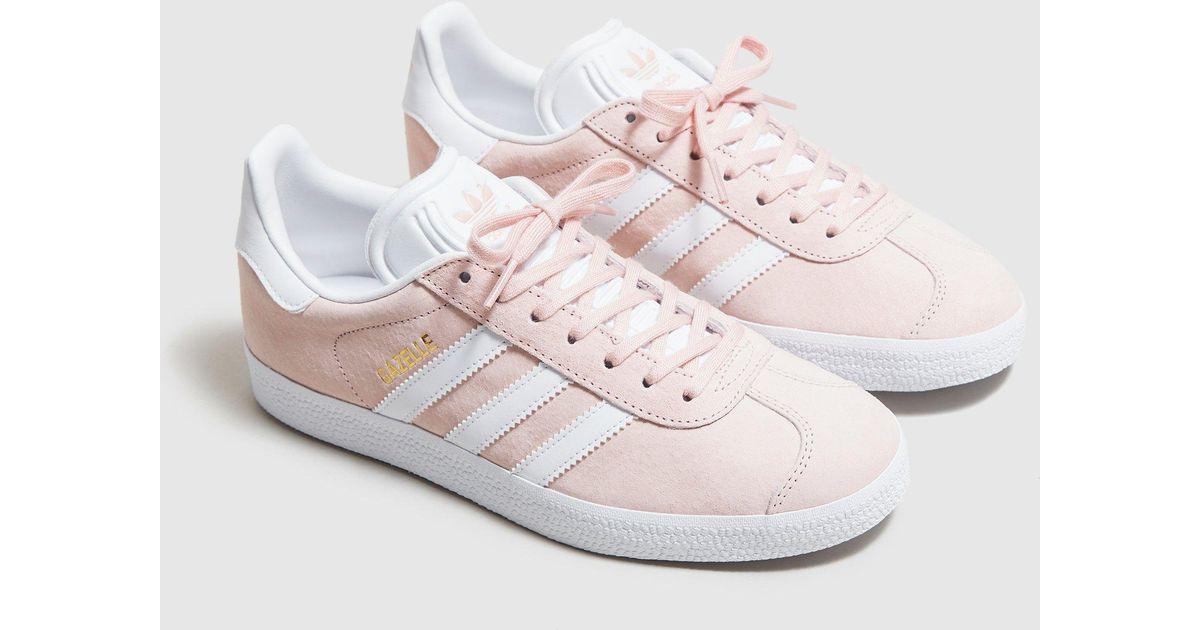 womens pink gazelle adidas- OFF 67
