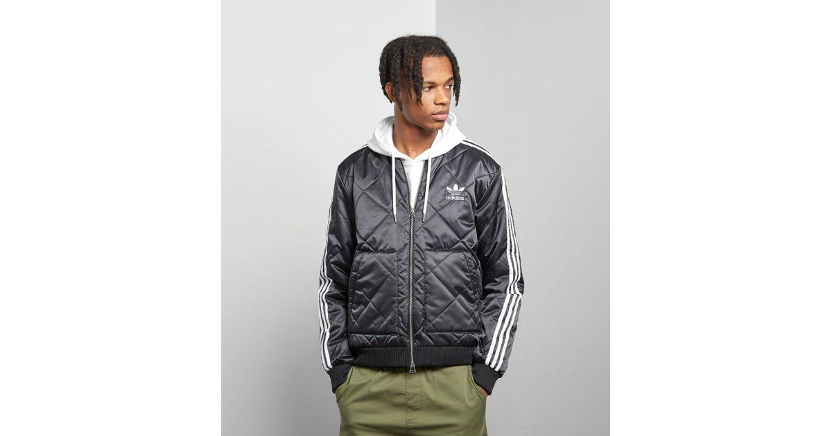 Originals Jacket Black Quilted Men Sst For Adidas qUpGSzMV