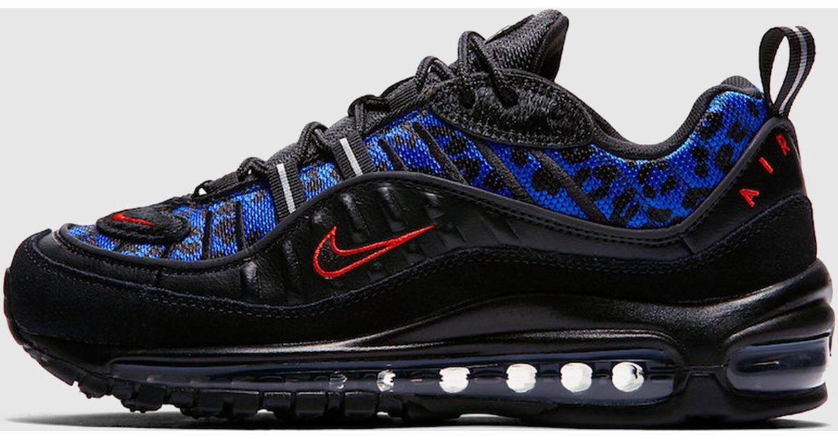 Nike Air Max 98 'black Leopard' Women's