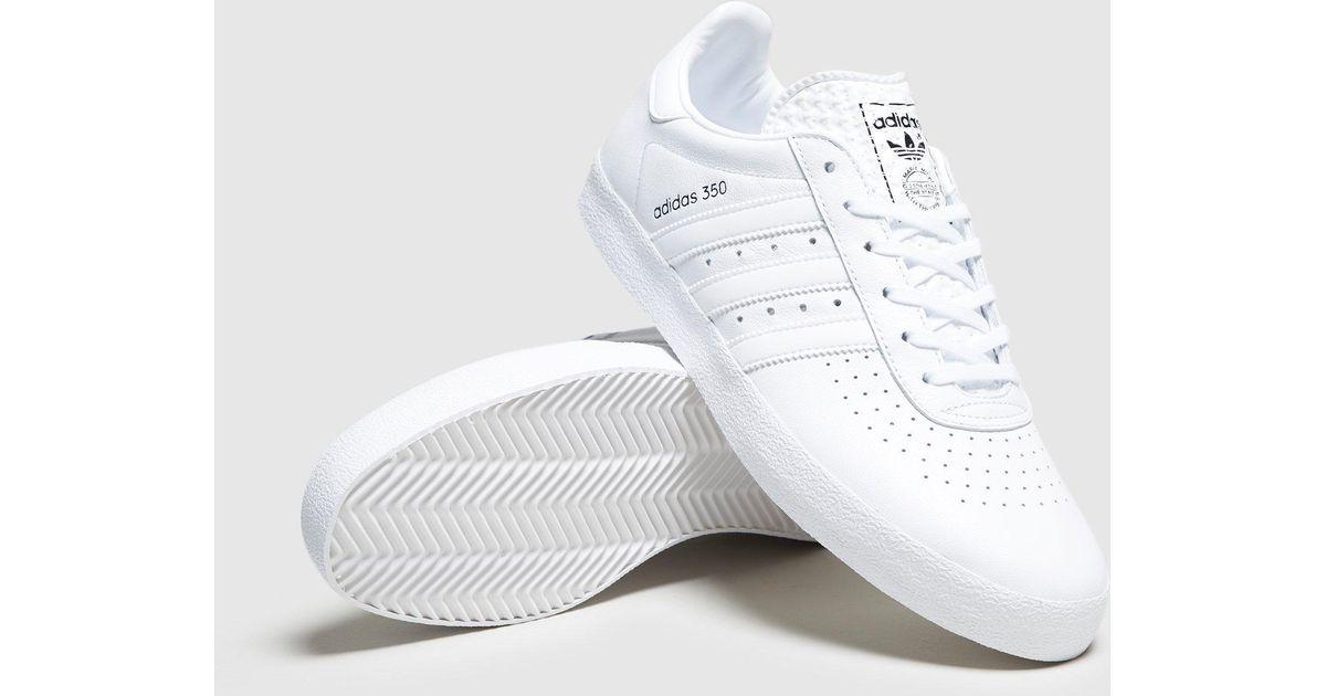 uk availability 97e8e 1f3d1 Adidas Originals White 350 Leather for men