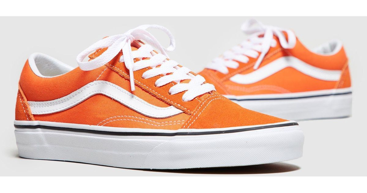 9530840f9f6d Lyst - Vans Old Skool Women s in Orange
