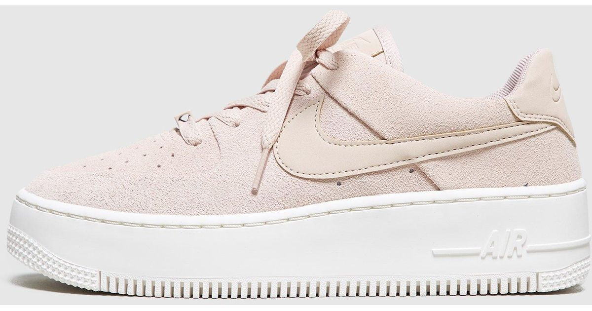Lyst - Nike Air Force 1 Sage Low Women s in Natural e1cda5d8e
