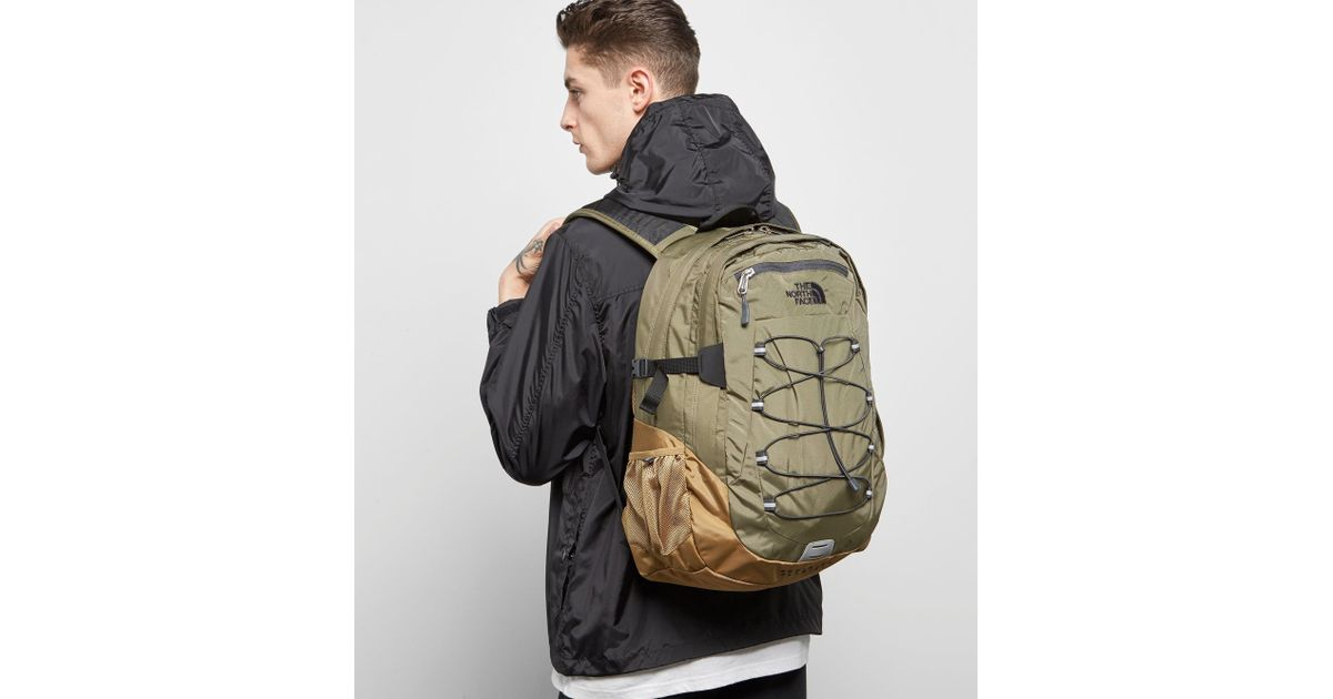 9046e7b90 The North Face Green Borealis Classic Backpack for men