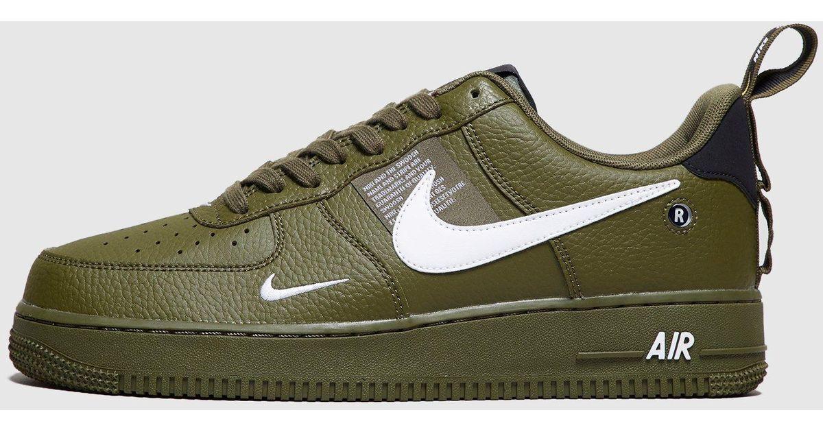 Nike Green Air Force 1 07 Lv8 Utility For Men