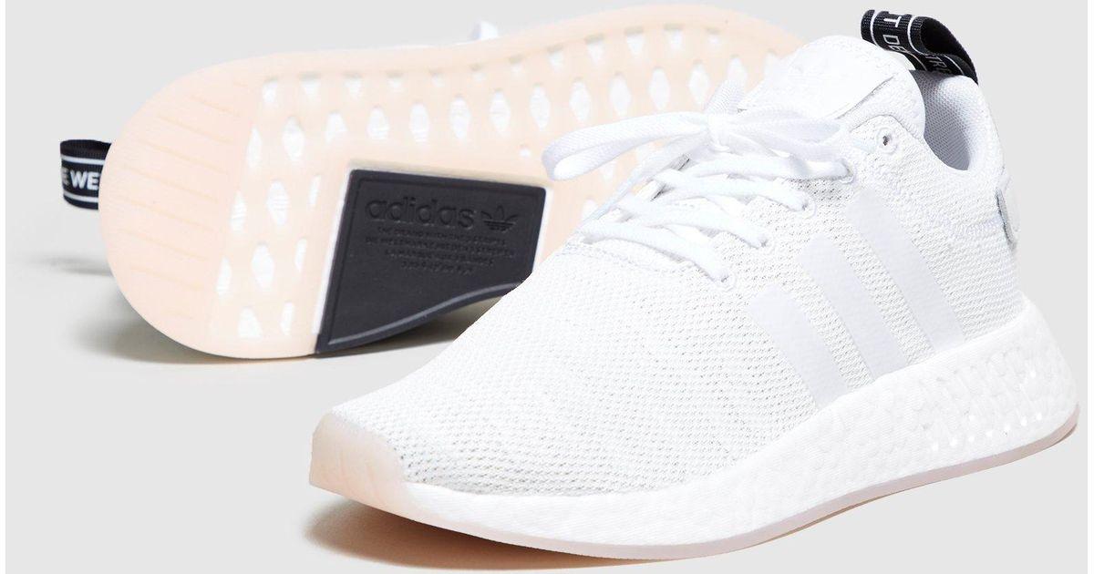 pretty nice 66276 671ab Adidas Originals White Nmd R2 Women's