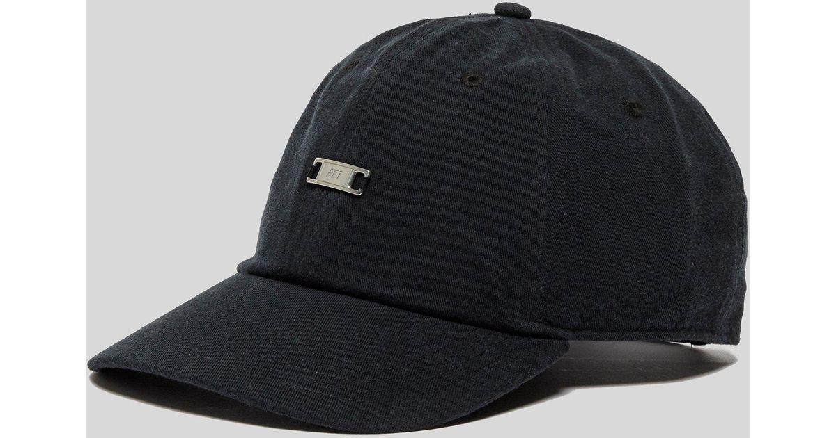 0709145a22d50 Nike Air Force 1 Cap in Black for Men - Lyst