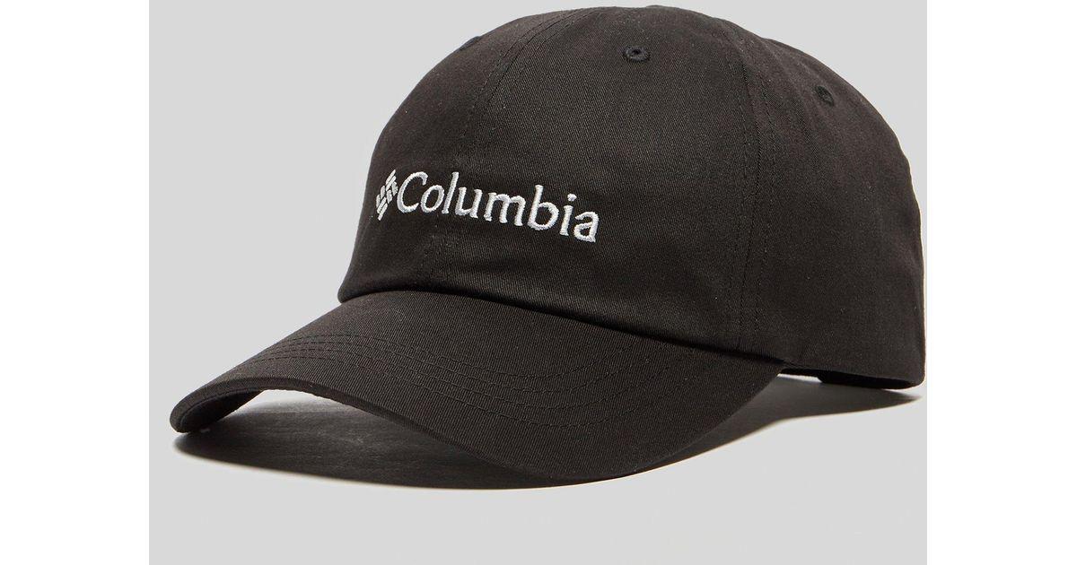 Columbia Roc Logo Cap in Black for Men - Lyst 3061a5d5cdc2