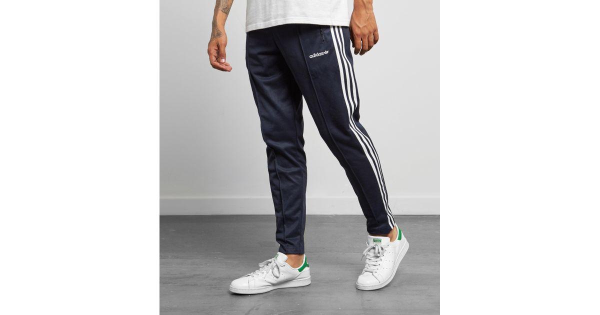 Adidas Originals Blue Beckenbauer Track Pant for men