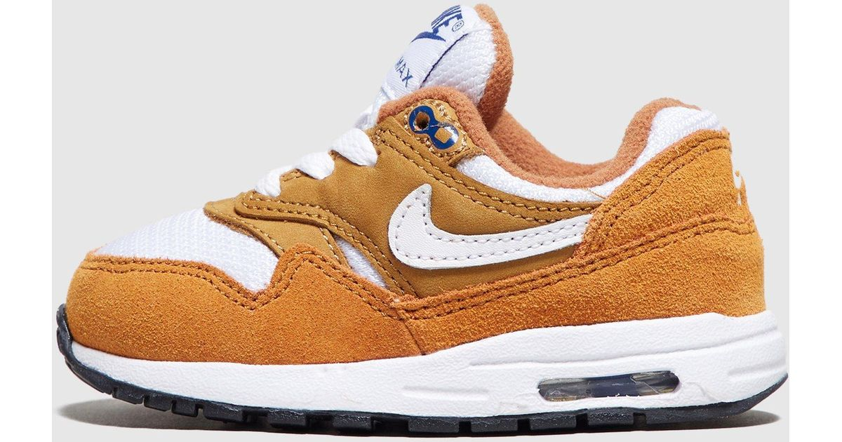 887845fbe17c5 Nike Air Max 1 Infant in Brown - Lyst