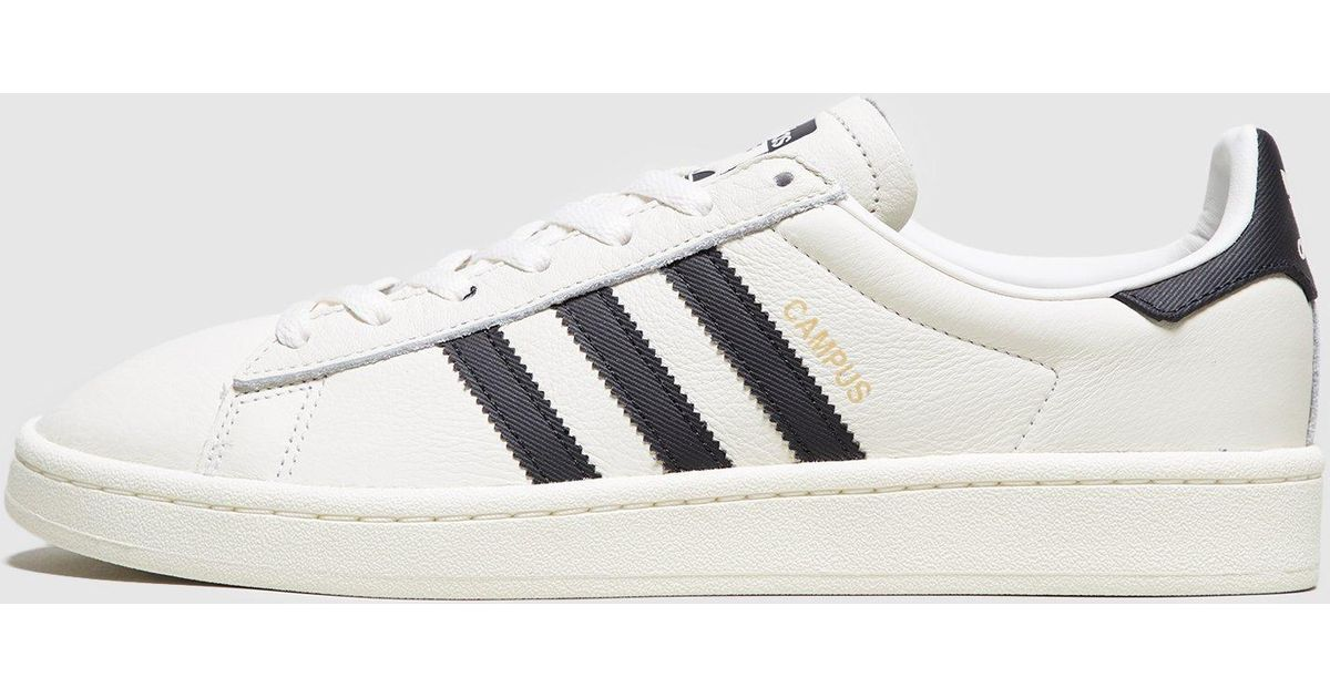 2e888589e715 Lyst - adidas Originals Campus Leather in White for Men