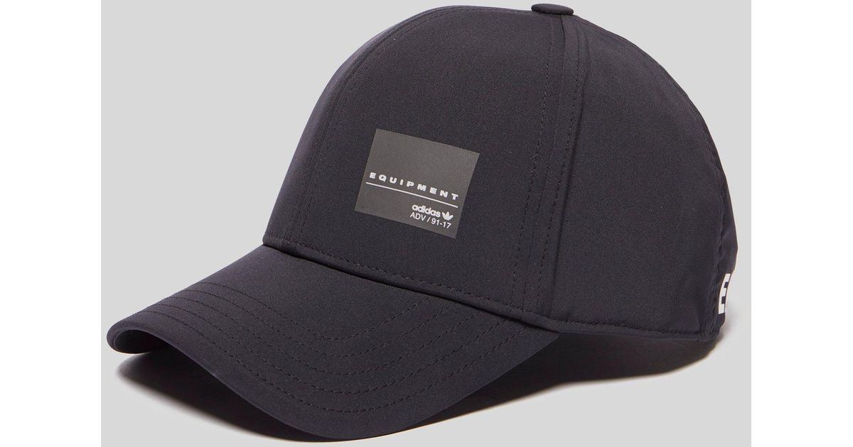 Lyst - adidas Originals Eqt Classic Cap in Black for Men 689e18ad889