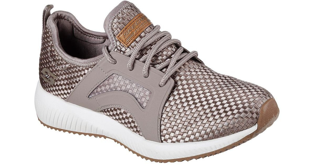SKECHERS BOBS SQUAD INSTA COOL women' shoes sports sneakers leather fabric