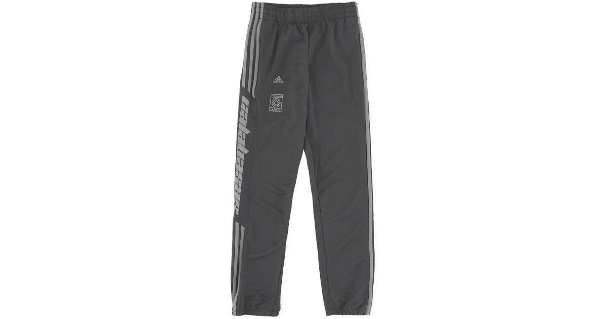 e89c55d51 adidas Originals Calabasas Track Pants in Gray for Men - Lyst