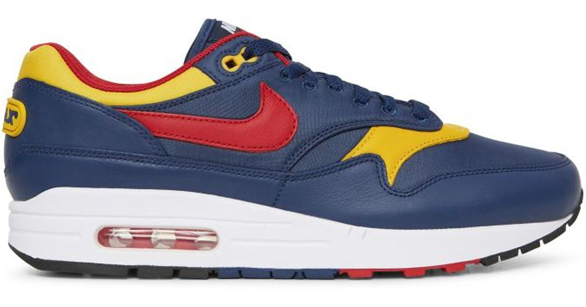 053d22de95 Nike Mike Air Max 1 Premium Navy/gym Red in Blue for Men - Lyst