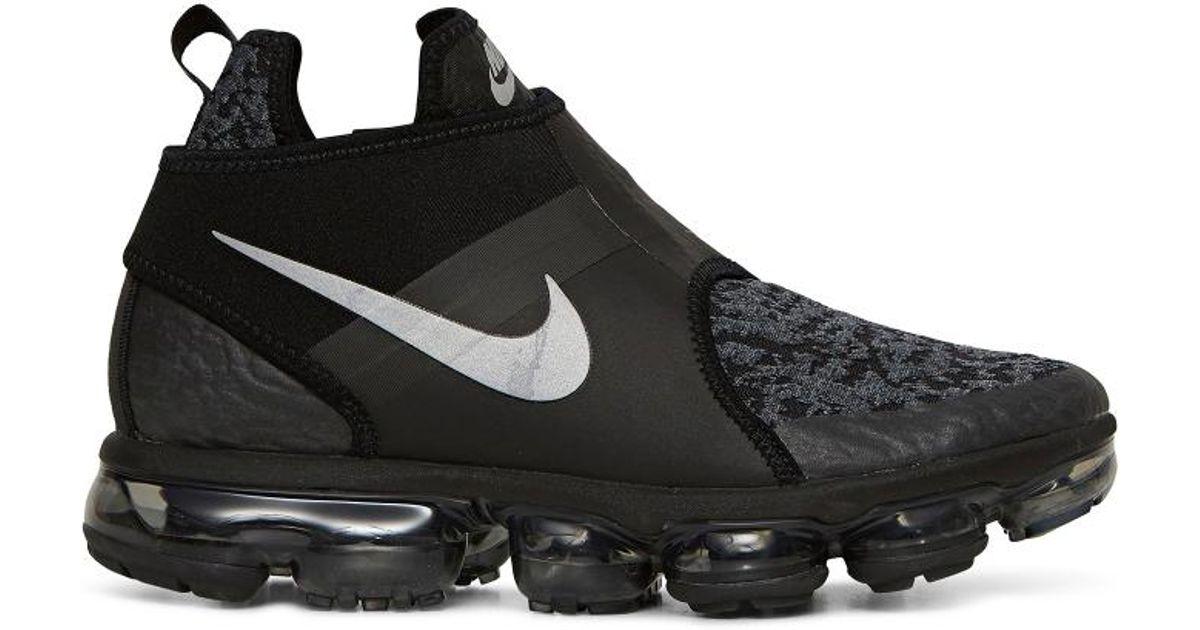 Lyst - Nike Air Vapormax Chukka Sneakers in Black for Men c4394b90b