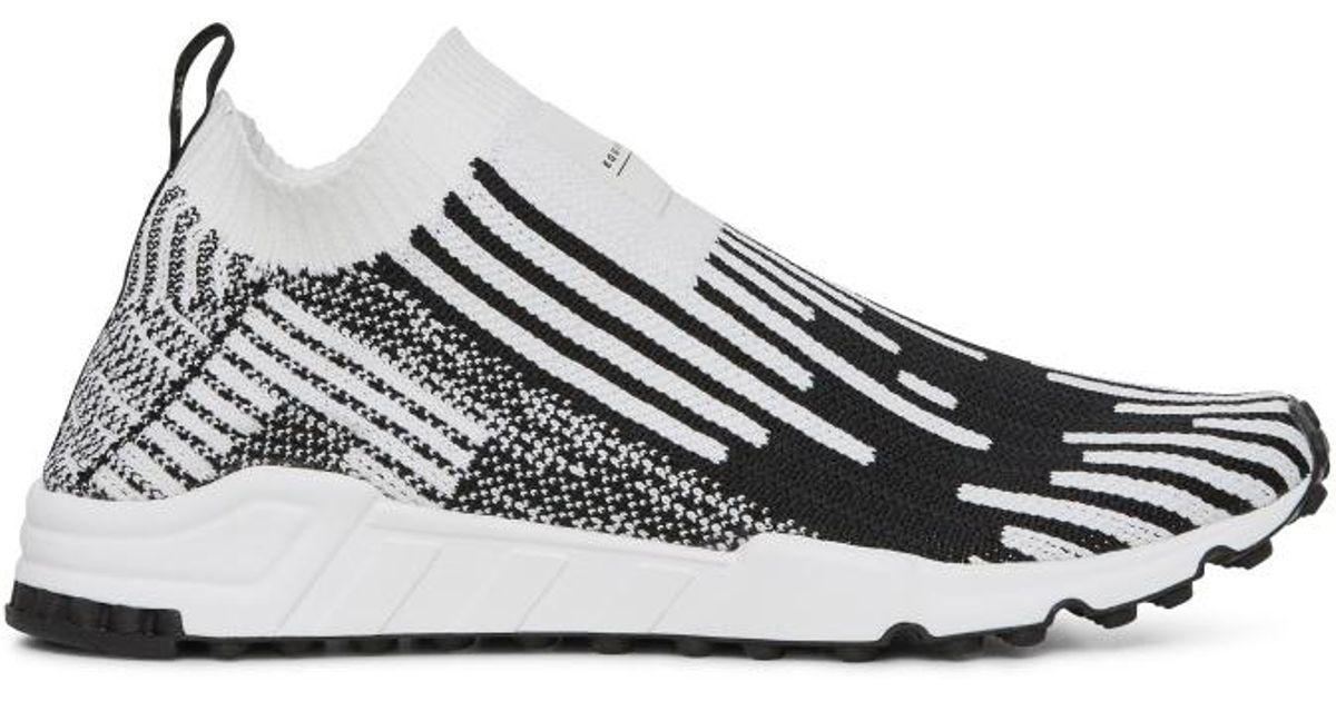 9faedfdca44 Lyst - adidas Originals Eqt Support Sock Pk Sneakers