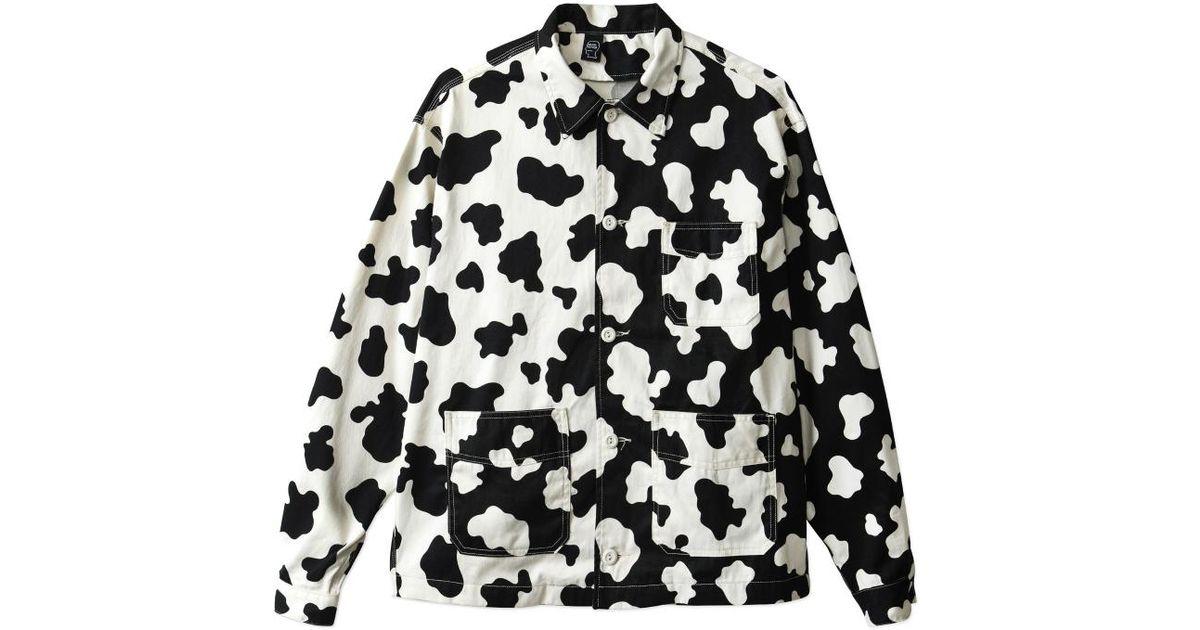 Brain Dead Black Cow Club Chore Shirt Jacket