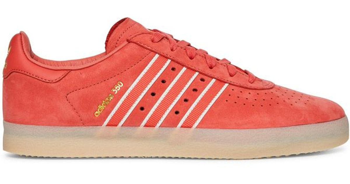 low priced 73654 080d7 ... top quality f8113 79e23 Lyst - Adidas Originals Oyster Adidas 350  Sneakers in Red fo ...