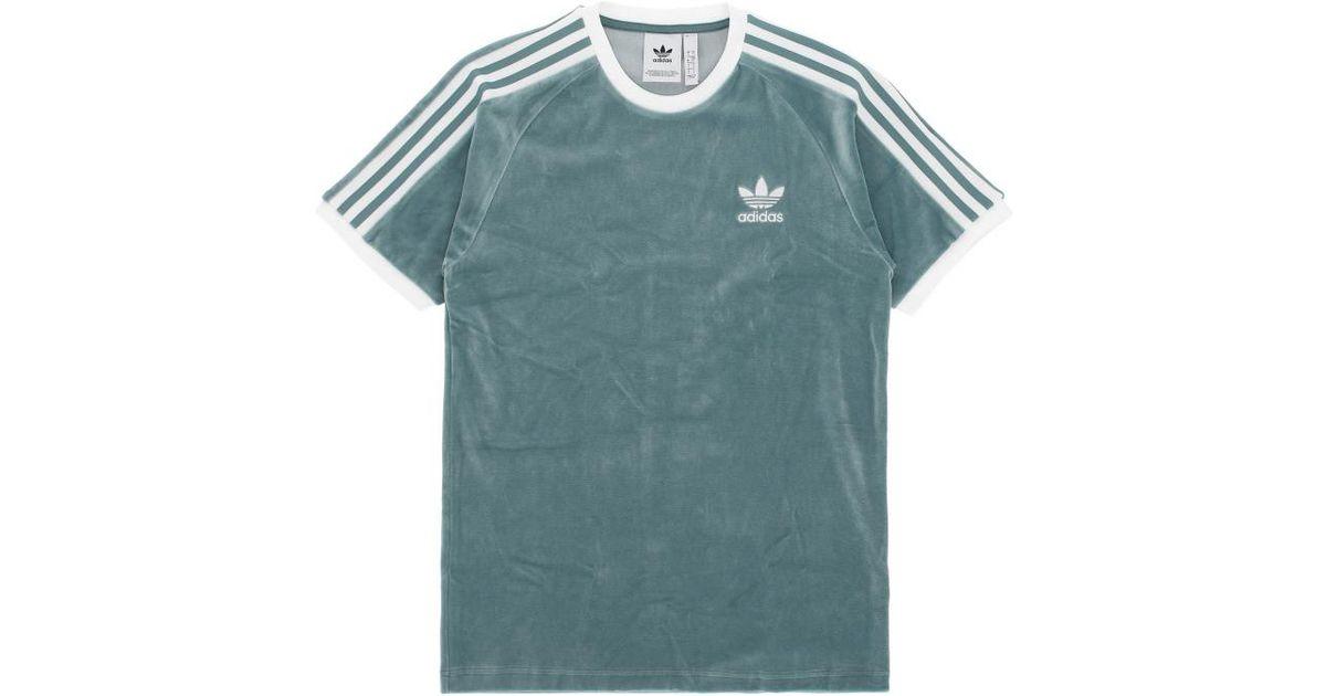 60a220c1 adidas Originals Cozy T-shirt in Blue - Lyst