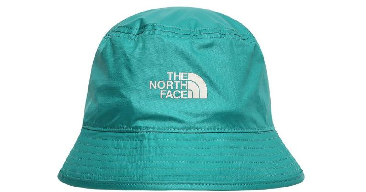 70a6fcb22 The North Face Green Sun Stash Reversible Bucket Hat for men