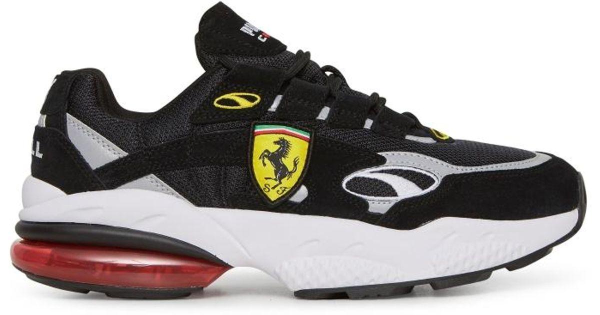 1e25348be71e2 PUMA Black Scuderia Ferrari Cell Venom Sneakers for men