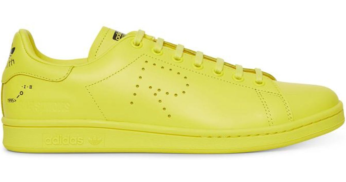 91ba8138871 Lyst - Adidas By Raf Simons Stan Smith Sneakers in Yellow for Men