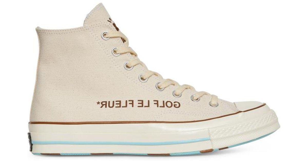 cd092889 Converse Golf Le Fleur Chuck Taylor 70 Hi Sneakers - Lyst