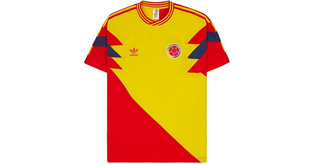 6ca986bdb adidas Originals Colombia Mash-up T-shirt for Men - Lyst