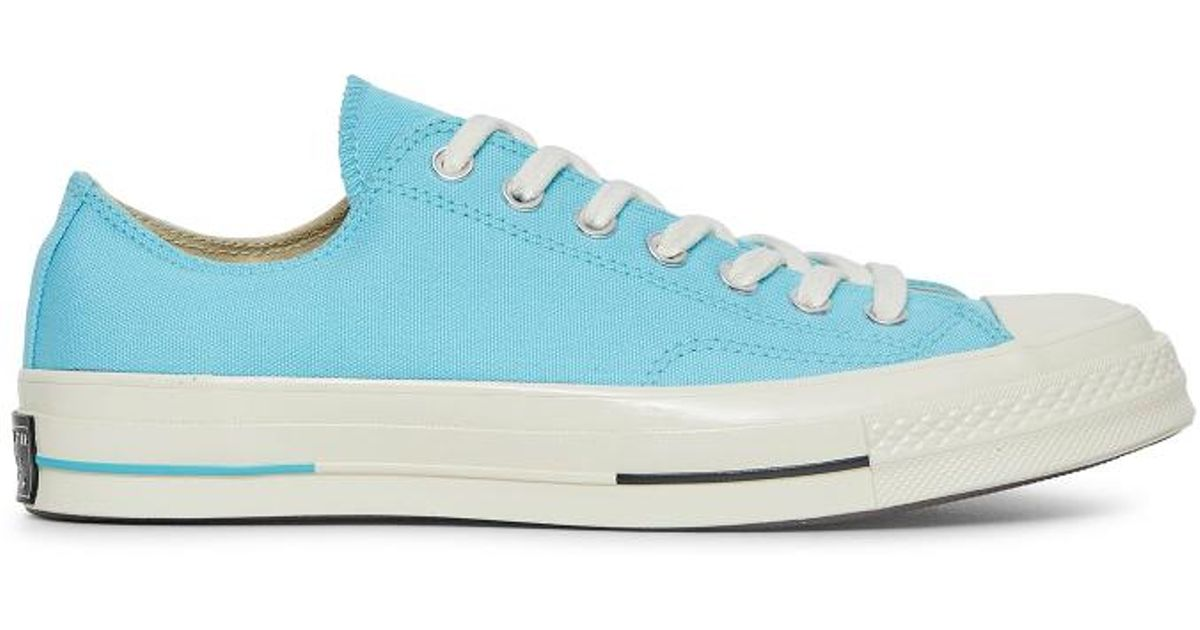 76690f00e68 Lyst - Converse Chuck Taylor 70 s  heritage Court  Sneakers in Blue