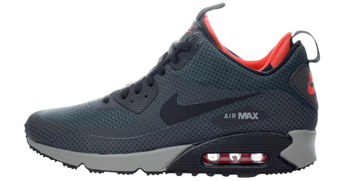 Lyst - Nike Air Max 90 Mid Winter Print in Blue for Men c71597d6f