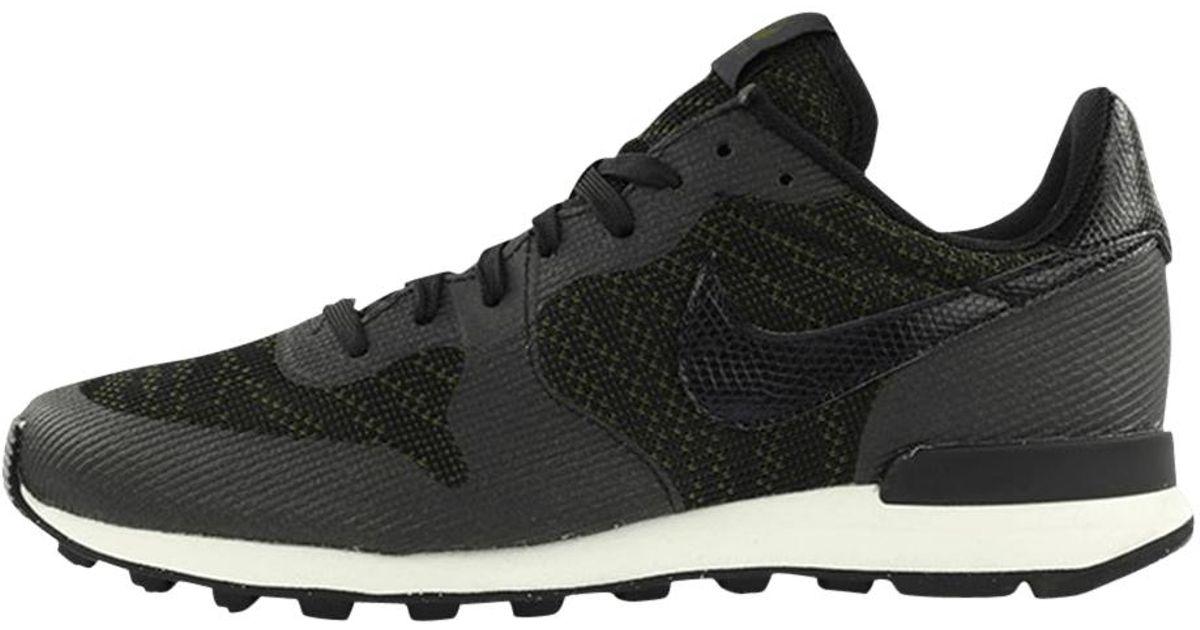 competitive price bba43 b3802 Nike Wmns Internationalist Kjcrd in Black for Men - Lyst